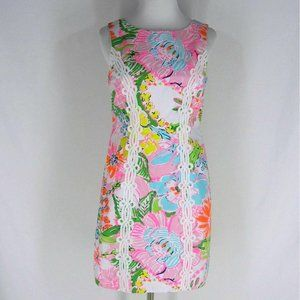 New LILLY PULITZER for Target Sheath Dress 8 10 16